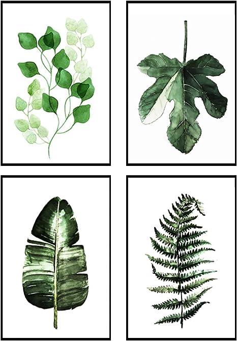 Hand Gezeichnet Pflanzen Nahtlose Muster