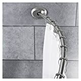 curved shower rod no drill - 2 Way Mount Curved Shower Rod - Threshold (Brushed Nickel)