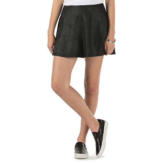 ed92ecab Vans Women's Off The Wall Harding Skirt-Black-XL at Amazon Women's ...