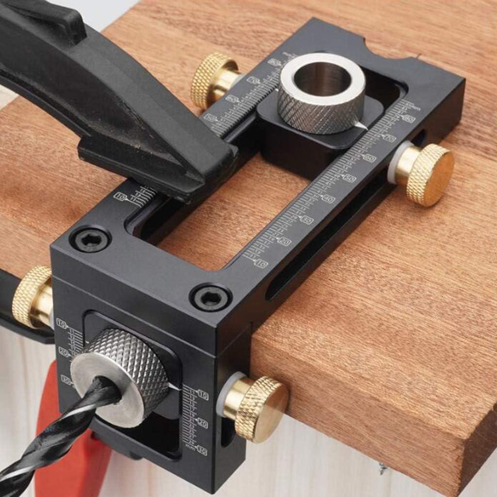 muebles para trabajar la PETSOLA Localizador de perforaci/ón localizador de perforaci/ón ajustable herramienta de medici/ón de madera resistente y duradera