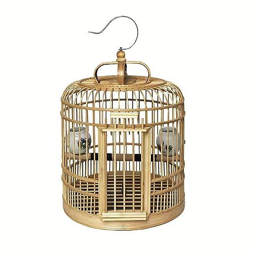 Puede ser colgado Loro Jaula Pájaro Pájaro Jaula de la cría ...
