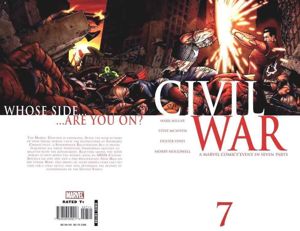 Read Online Civil War #7 (Marvel Comics Civil War) pdf