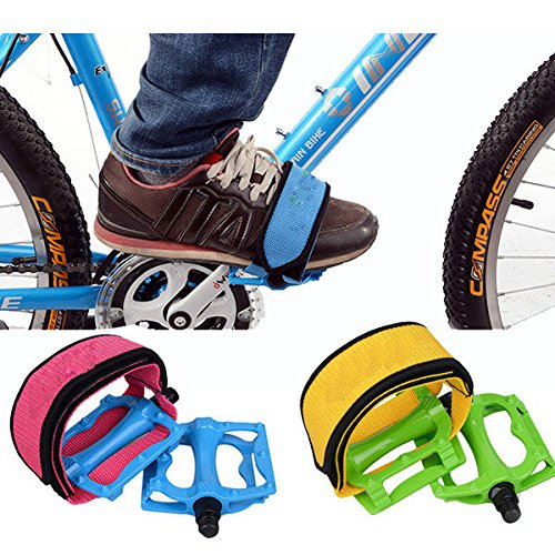 Cycling - Gear Bike Bicycle Pedal Foot Binding Band - Geosynchronous Mechanism Cycle Lash Rigid Unadjustable Wheel Flog Unchangeable Slash Repaired Paraphernalia Shoulder Strap - 1PCs
