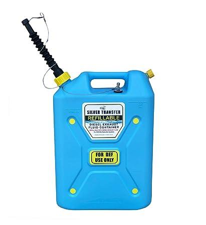 Diesel Exhaust Fluid >> Silver Transfer Diesel Exhaust Fluid Refillable Def Jug 5 Gallon Sts 0777
