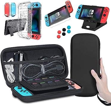 Lachesis Nintendo Switch - Funda 5 en 1 para Nintendo Switch: Amazon.es: Electrónica