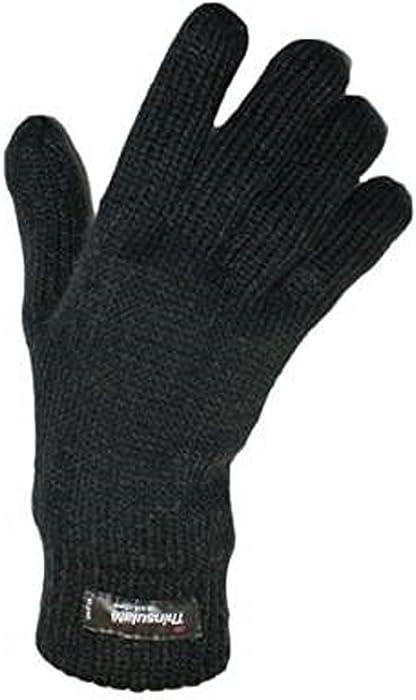 premium selection d78ee 8eba0 Damen Warm Gestrickte Thermal Thinsulate gefütterte Handschuhe in großer  Farbauswahl