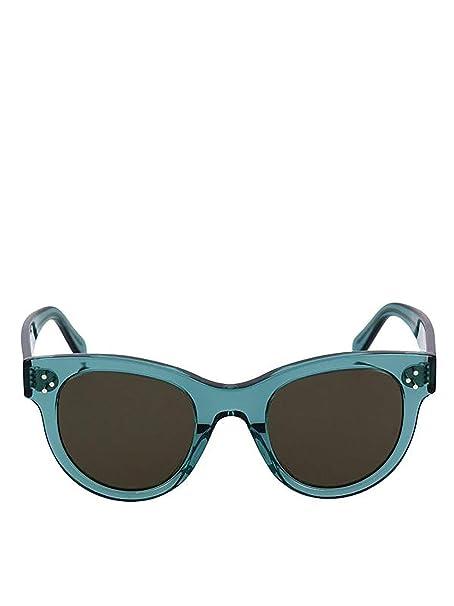 a0eb7be56ec Céline Women s Cl40003i96j Light Blue Acetate Sunglasses  Amazon.co.uk   Clothing
