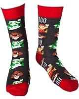 Bioworld - Chaussettes Super Mario Pixel