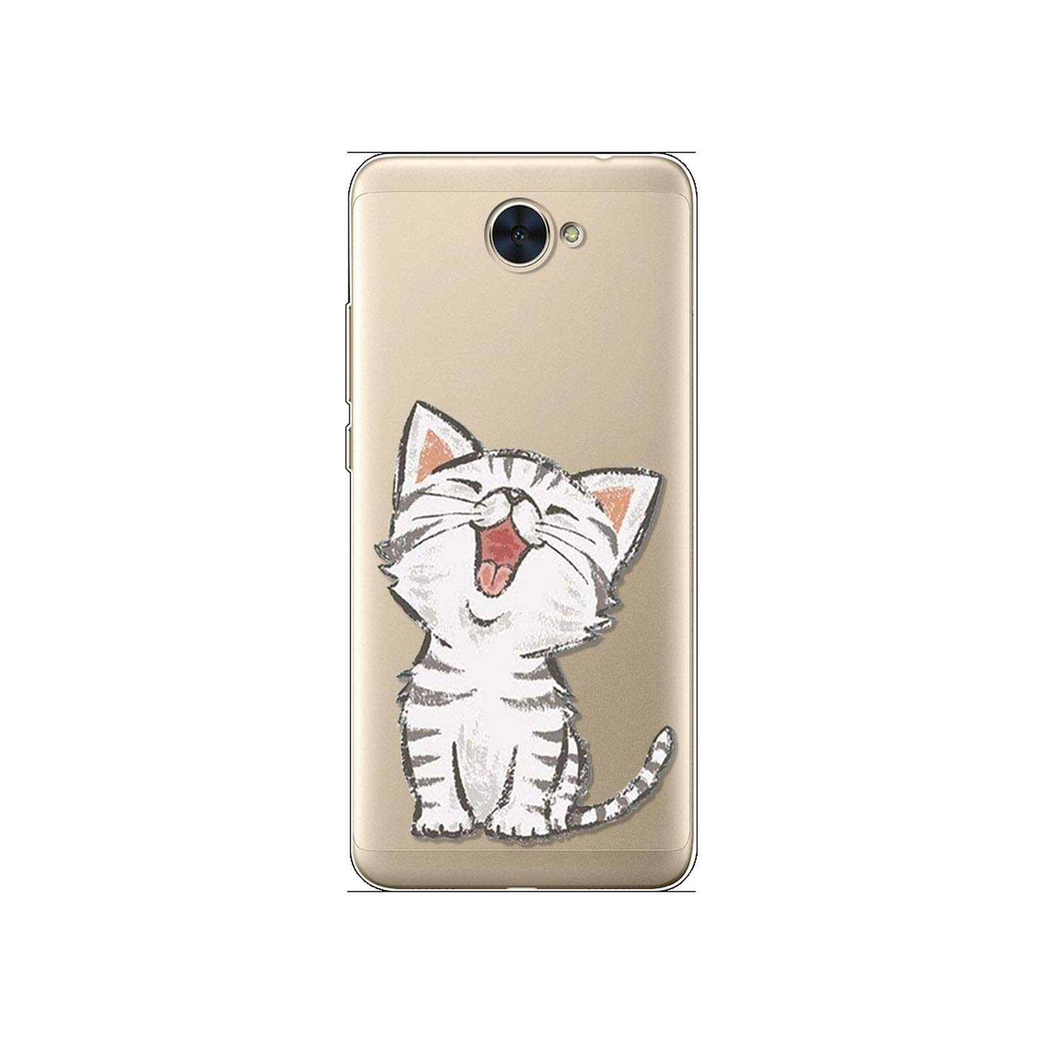 Amazon.com: Painted Case for Huawei Soft Silicon Case Back ...