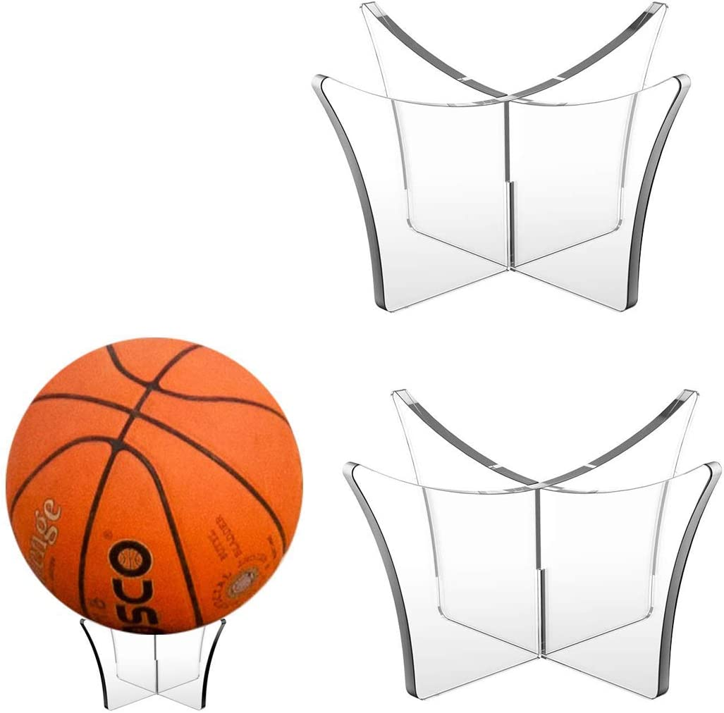 Hold Football Volleyball or Soccer Ball HenryBot Ball Stand Display Stand or Holder Basketball 1 Pack