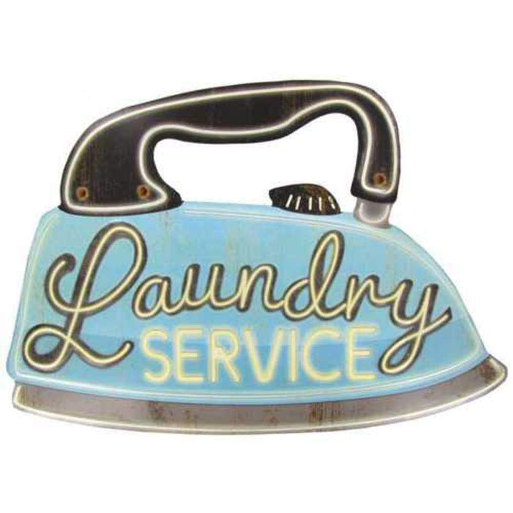 K&N41 - Cartel de lavandería para decoración de Interiores ...