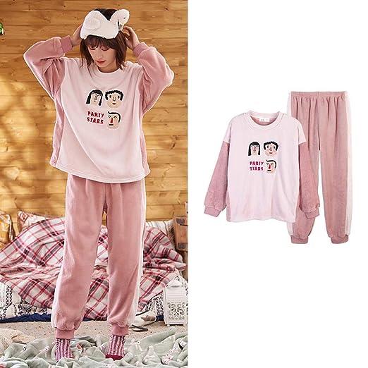 Bayrick Pijama de Hombre Invierno Polar,Pijamas Mujer otoño e ...