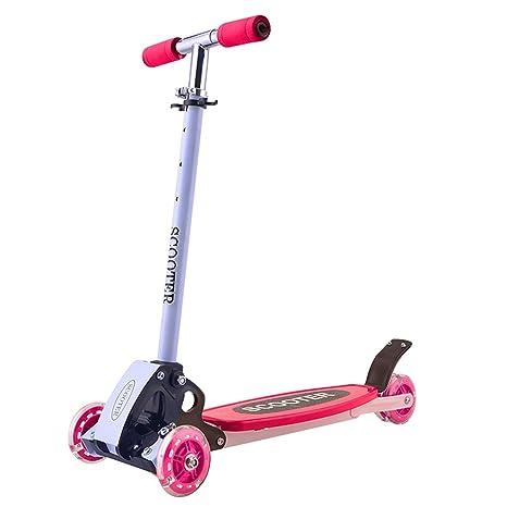 Patinete de tres ruedas para niños, perfecto para niños mayores de 3 años, con