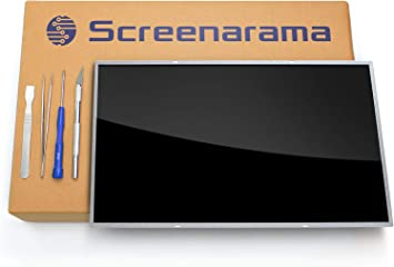 HD 1366x768 SCREENARAMA New Screen Replacement for B140XW01 V.9 LCD LED Display with Tools Glossy