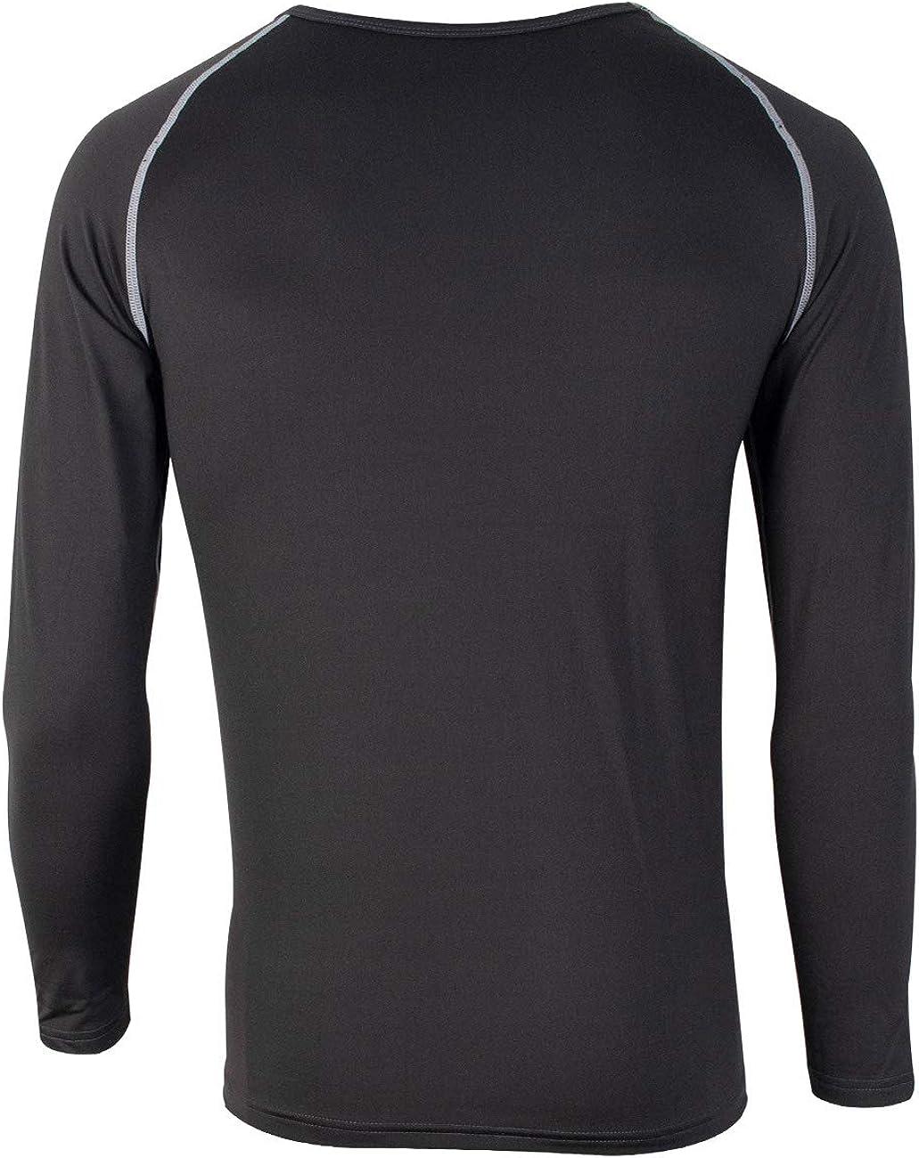 FITEXTREME Mens MAXHEAT Fleece Lined Performance Long Johns Active Underwear