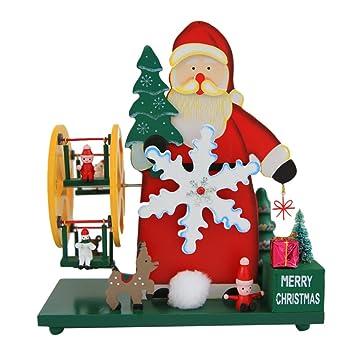 Christmas Ferris Wheel Music Box.Amazon Com Zhuhaitf Christmas Ferris Wheel Music Box Crafts