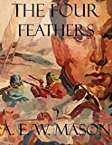 Front cover for the book The Four Feathers by A. E. W. Mason