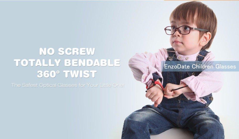 169e6f9372 EnzoDate - Montura de gafas - para niño multicolor morado