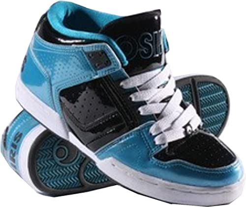 ccbf583005a Osiris Skateboard Shoes South Bronx Kids Pagoda/Black/White, shoe size:33