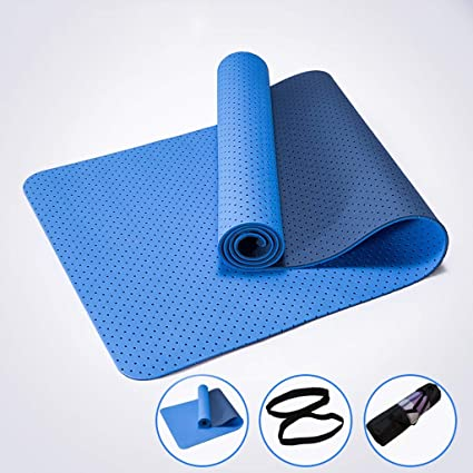 Amazon.com : YJD01 Yoga Mats Premium Exercise Yoga Mat TPE ...