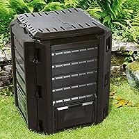 Deuba - Compostador de jardín, termocompostador, compostador rápido, 380 litros - 1600 litros: Amazon.es: Jardín