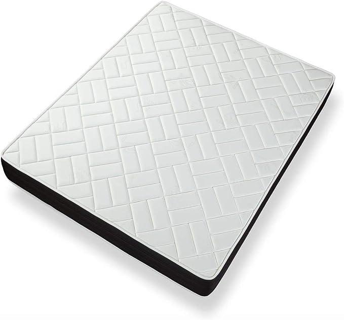 Eliocel Alta densit/à Dormideo Elixir 80x180 Alto 24cm Materasso 3cm di Memory 3D Fresh
