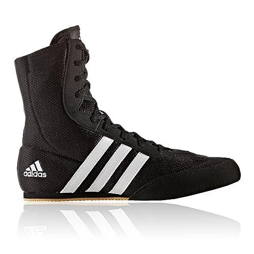 : Zapatos de boxeo Adidas Box Hog 2 SS17., negro