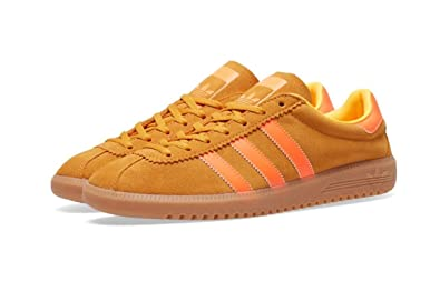 adidas Mens Originals Bermuda Trainers in Solar Gold/Solar Orange
