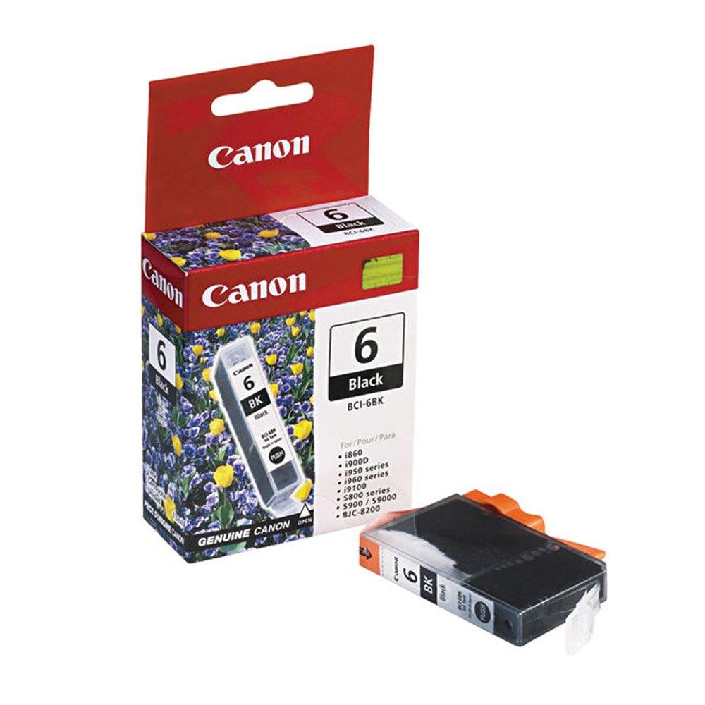 Canon ip4000 (bci-6bk) ブラックインクカートリッジ標準Yield B01LY5Y3G3