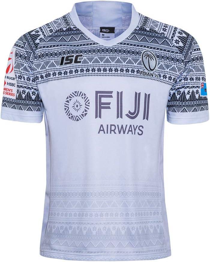 MalataMall 2020 Fiji Rugby Jersey Local Visitante Camiseta De Entrenamiento Actividades Diarias Deportes Manga Corta S-5XL: Amazon.es: Deportes y aire libre