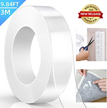 3mm Double Sided Tape 5o Metres Discount for Quanity British Made High Quality
