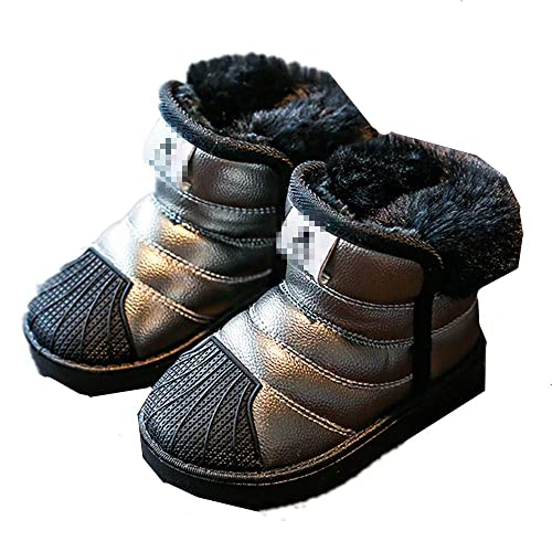 830e52d1e Believed Winter Shoes for Girls Boys Snow Boots Warm Fur Children ...
