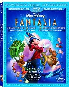 Fantasia/Fantasia 2000 [Blu-ray]