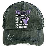 I Dance Hat, I Dance Ballet Trucker Cap (Trucker Cap - Dark Green)