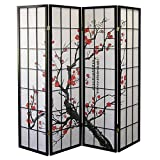 Cheap Major-Q BLSSOM-FT15 Decoration Japanese Oriental Style Room Screen Divider