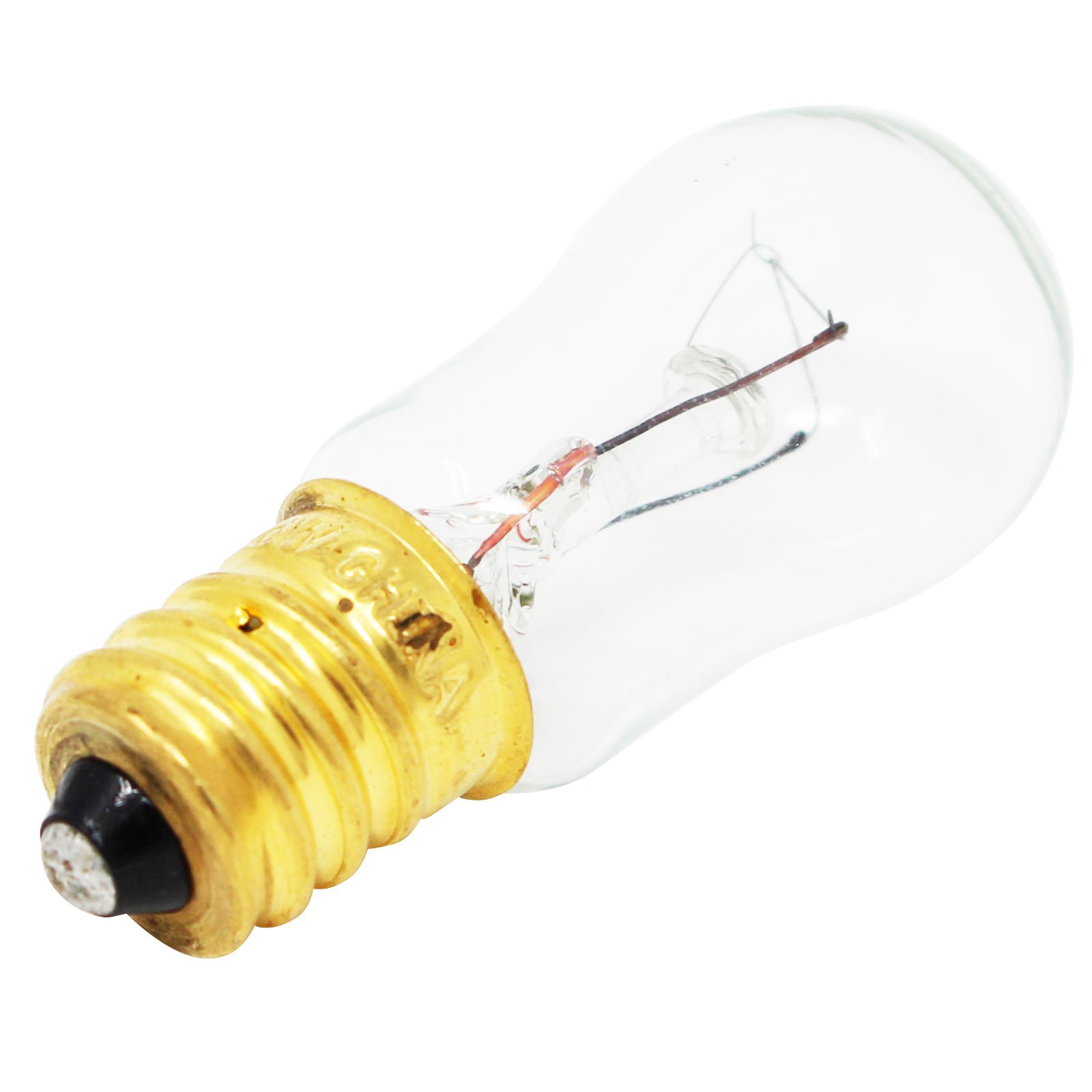 Replacement Light Bulb for General Electric PSC21MGMBWW Refrigerator - Compatible General Electric WR02X12208 Light Bulb