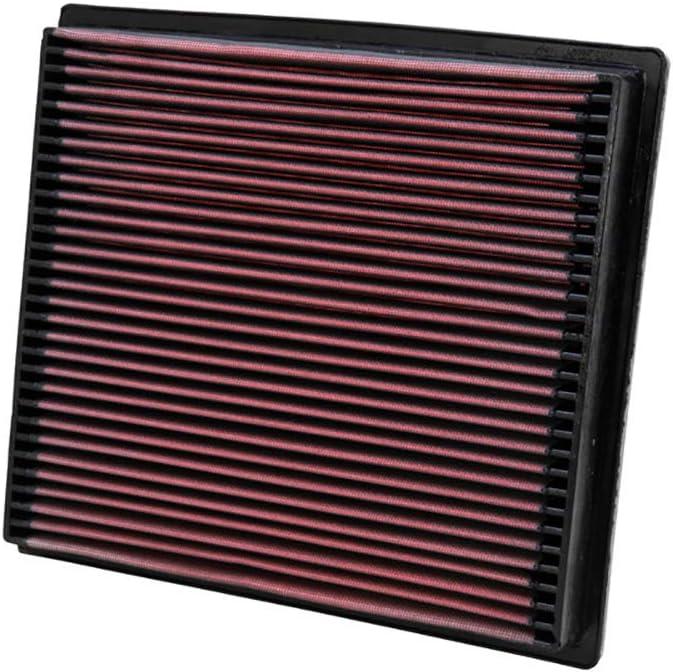 Replacement Filter: 1992-1996 BUICK//CADILLAC//CHEVROLET K/&N Engine Air Filter: High Performance Roadmaster, Fleetwood, Eldorado, Caprice, Impala SS Washable Premium 33-2057