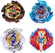 Battling Top Bey Combat Gyro Burst Toys Blade for Kids Children Teens Gifts Birthday Gifts | Battling Tops x4;