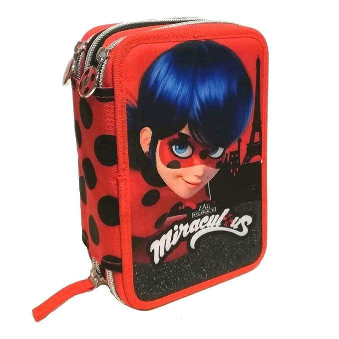 Agenda Diario Notas Belleza Miraculous Ladybug + Broche Pelo ...
