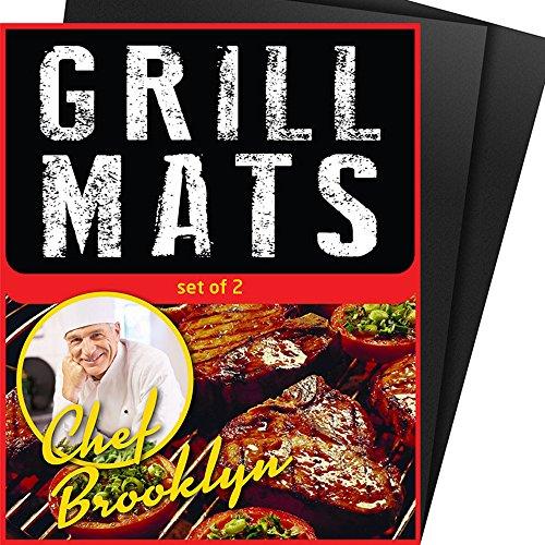BBQ Grill Mats Stick Reusable