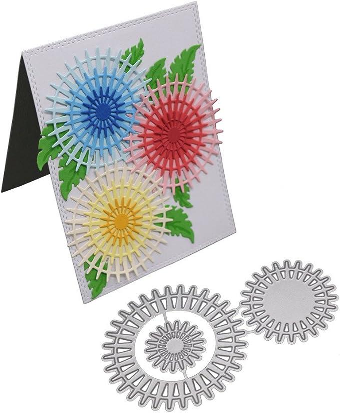 1 pair Swan Metal DIY Cutting Dies Stencil Scrapbook Paper Card Embossing