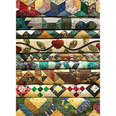 Cobble Hill Grandma's Quilts Jigsaw Puzzle (1000 Piece): Game: Toys & Games