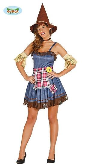 Sexy Vogelscheuche Damen Halloween Kostüm Vogelscheuchen Horror