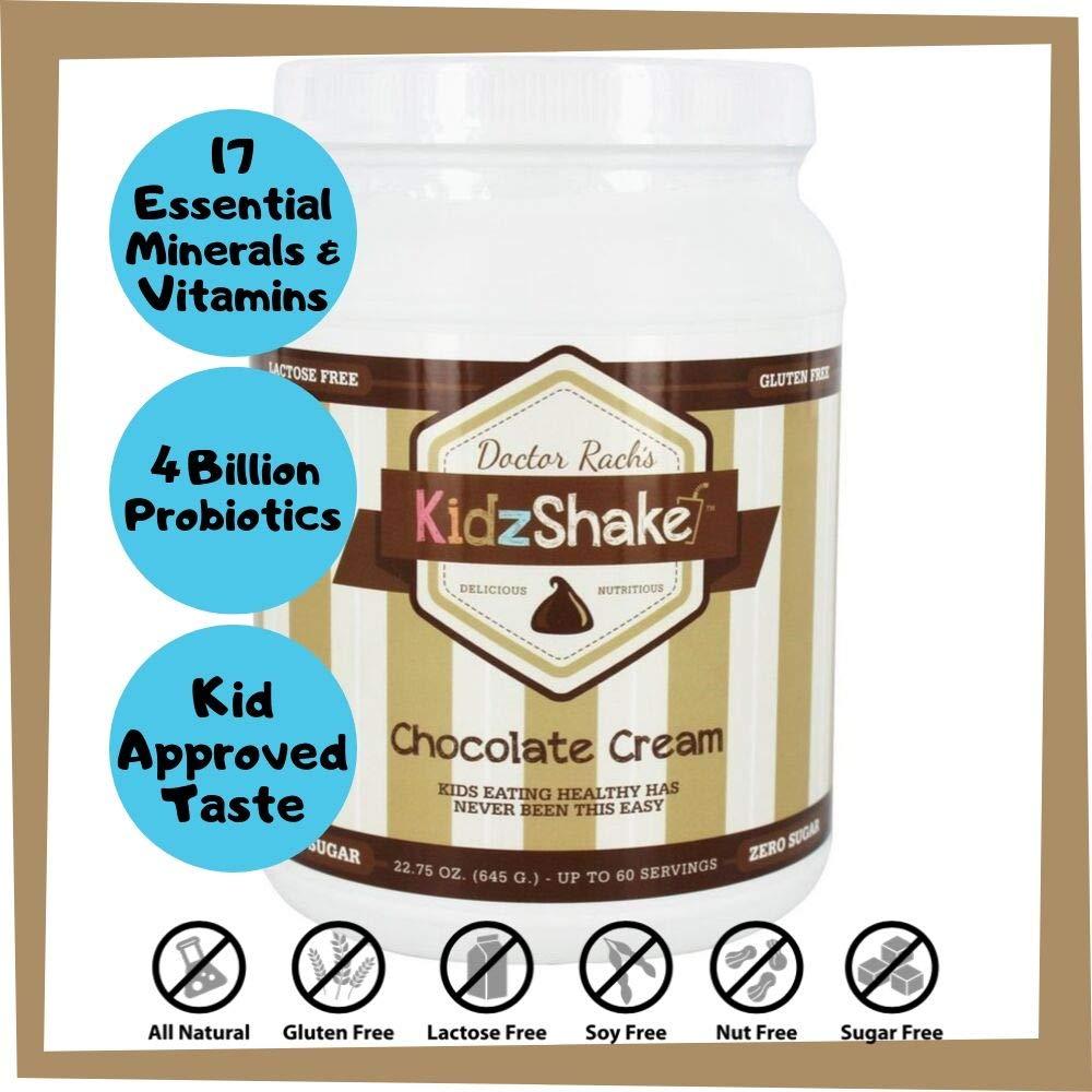 KidzShake - Kids Chocolate Cream Organic Protein Powder