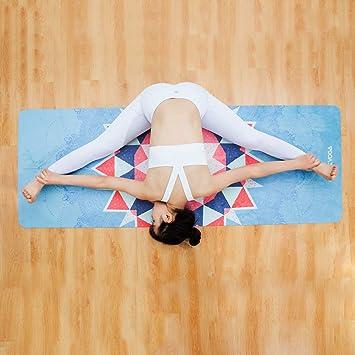 UKIYES Estera de la Yoga,Pilates Mat Alfombra de Esterilla ...