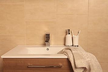 Swish Marbrex Sandstein Fliesen Effekt Wandleuchte Paneele Badezimmer  Deckenleuchte Verkleidung PVC Wet Wand Küche Panels,