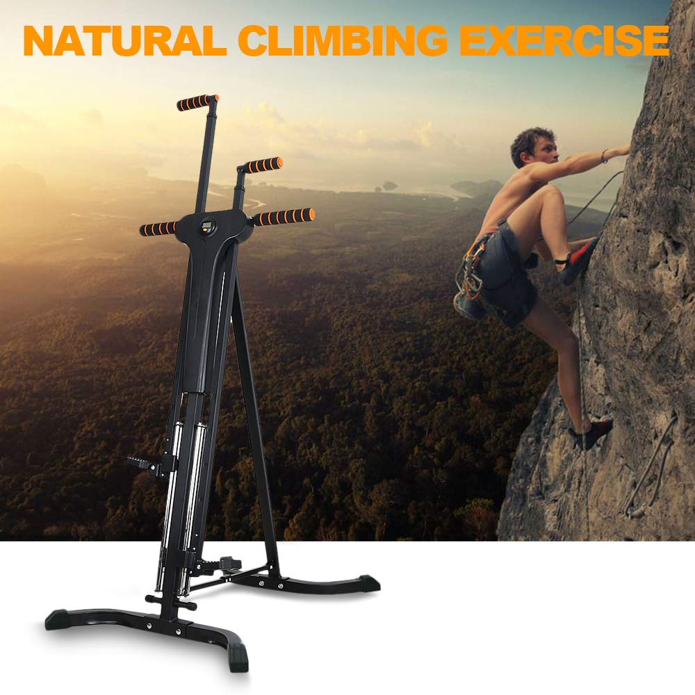 Rxlife Vertical Climber Cardio Exercise Folding Climbing Machine for Home Gym Step Climber Exercise Fitness by Rxlife (Image #7)