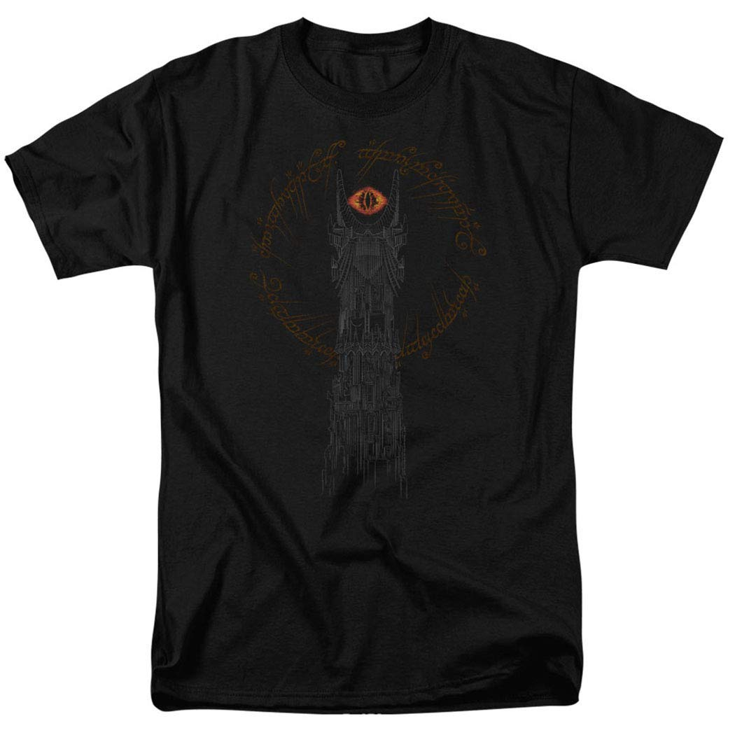 Lord of The Rings Tower of Sauron Eye T Shirt & Exclusive Stickers