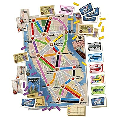 Days of Wonder DOW720060 Ticket to Ride New York, Multicolour: Toys & Games