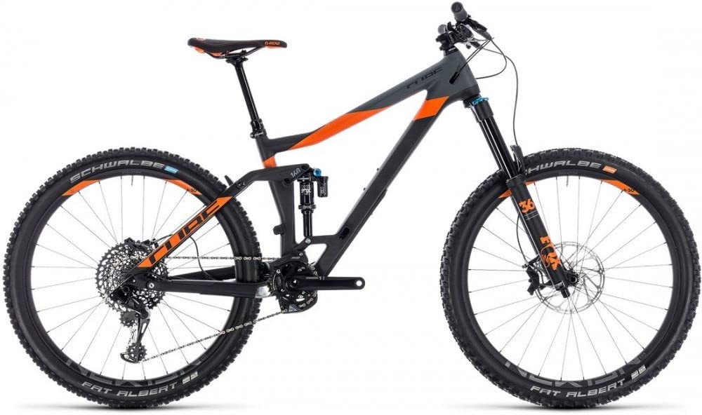 Montaña cubo Stereo 160 C: 62 TM 27.5 carbon N Orange 2018 – 16